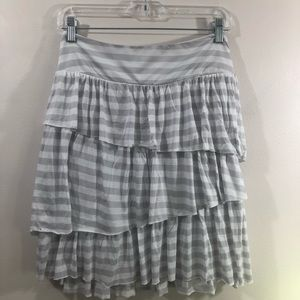 Banana Republic Tiered Ruffle Skirt NWT!